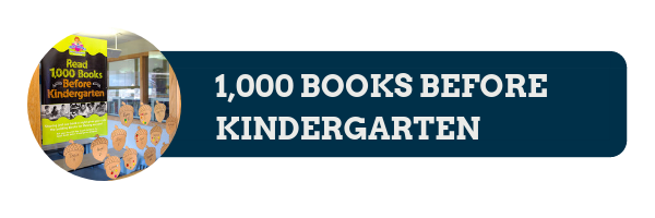 Header Image 1,000 Books Before Kindergarten